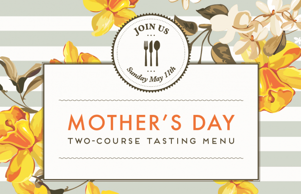 Mother's Day Tasting MEnu