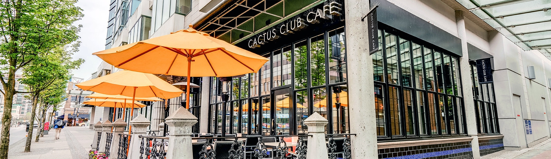 West Broadway and Granville Street Cactus Club Cafe