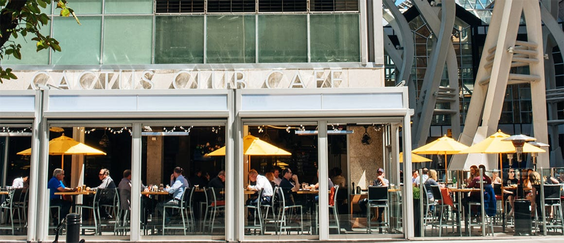 Stephen Ave Cactus Club Cafe