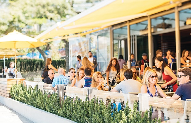 patio weather, beer, cocktails, happy hour