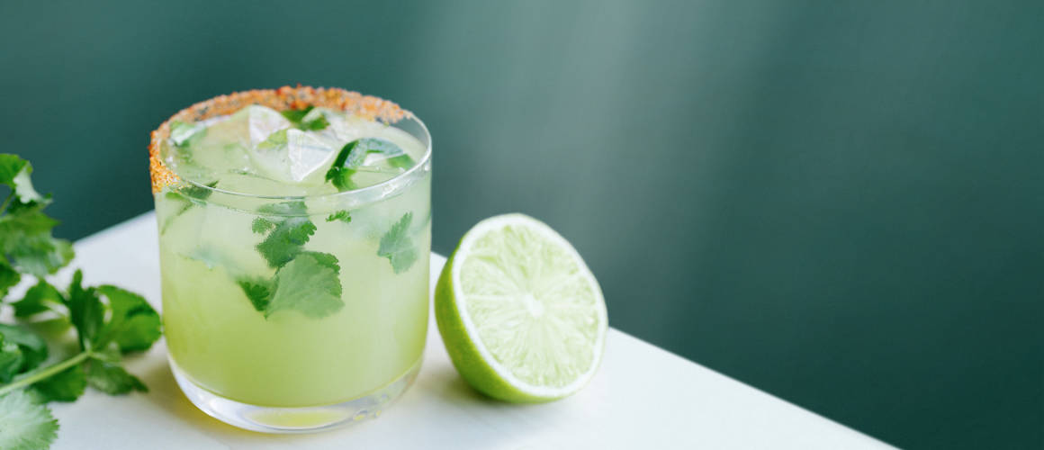 cazadores reposado tequila, triple sec, lime, jalapeño, cilantro and smoked chili salt