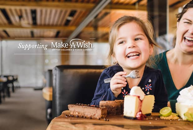 Make-A-Wish® | Cactus Club Cafe Sweet Dreams Dessert Week