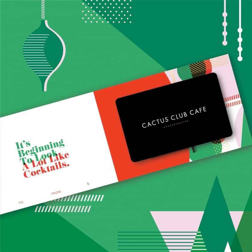 Holiday Gift Card Sale