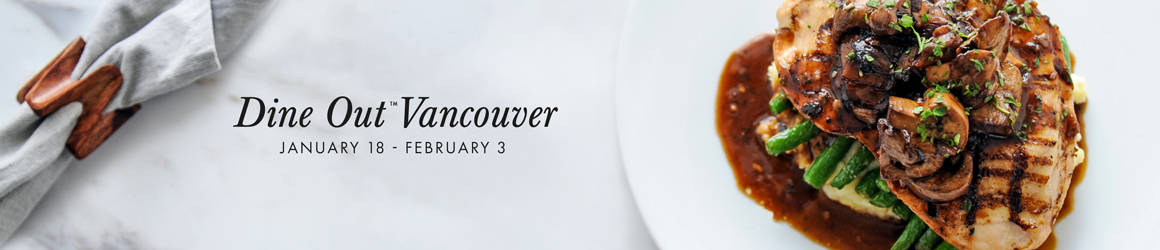Exclusive $35 tasting menu available from January 18 - February 3, 2019. Select locations.