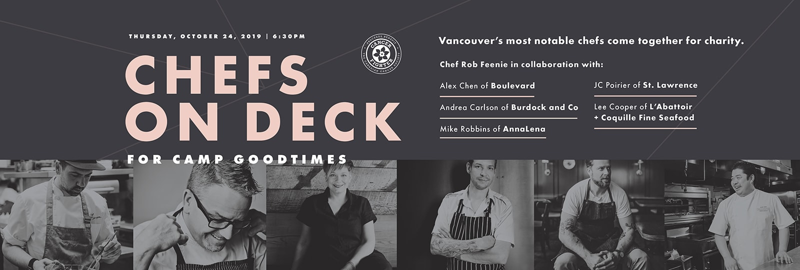 Chefs on Deck for Camp Goodtimes