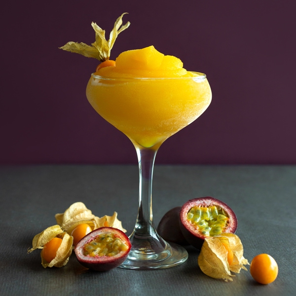 Passion Fruit Bellini: smirnoff vodka, passion fruit and sparkling wine.
