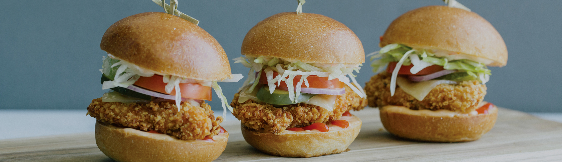 Crispy Chicken Burgers | Cactus Club Cafe