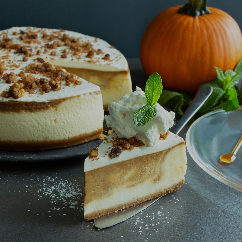 Pumpkin Cheesecake | Cactus Club Cafe