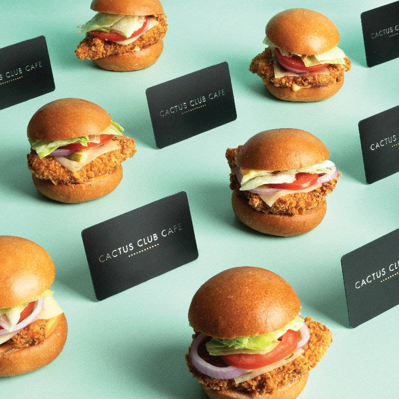 Cactus Club Cafe Holiday Gift Card Sale