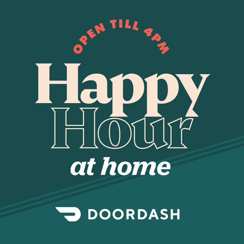 Happy Hour at Home | Every day open to 4pm