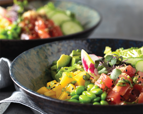 Tuna Poke Bowl | Dine Out Vancouver